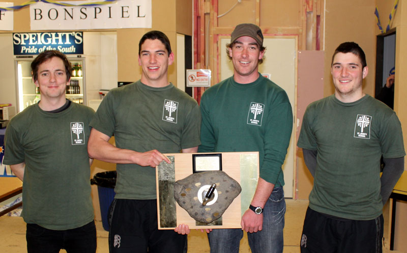 St Johns, winners of the 2010 Wendorf Bonspiel