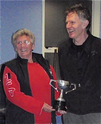 2012 Auckland Mixed Doubles winners
