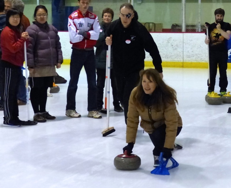 Come curling in Auckland