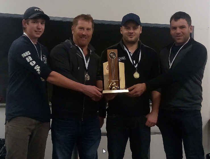 2017 NZ Men's Curling champions