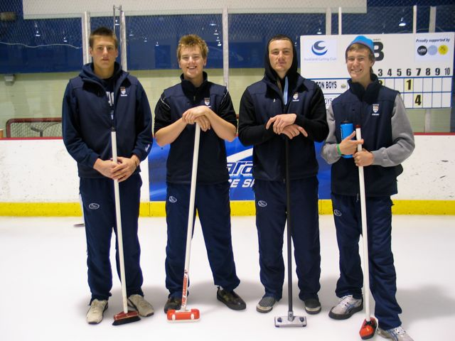 Otago Boys High School curlers 2011