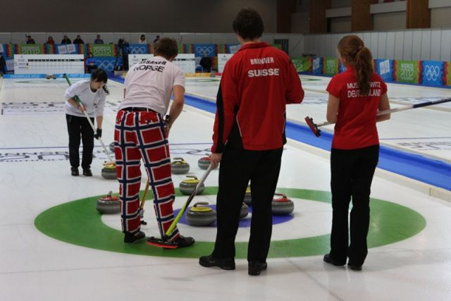 Mixed Doubles Gold medal match