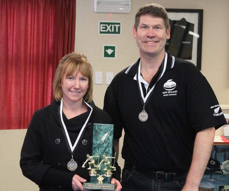 2013 NZ Mixed Doubles winners