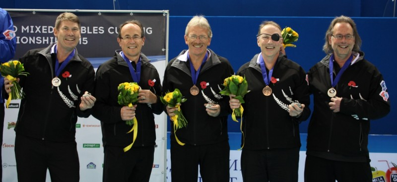 WSCC 2015 Men's Bronze medallists NZL