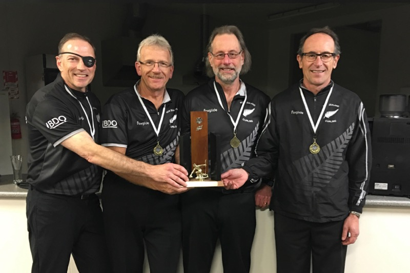2018 NZ Senior Men's champions