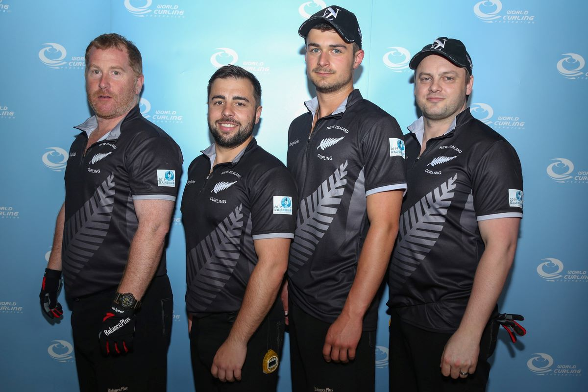 Team NZ at Pacific-Asia Curling Championships 2019