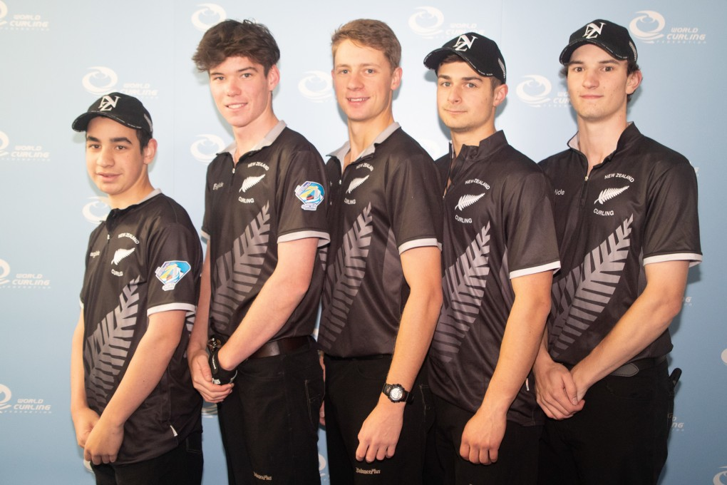 NZ Men at 2019 World Junior Curling Championships