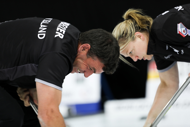 NZ at World Mixed Doubles Championship 2019