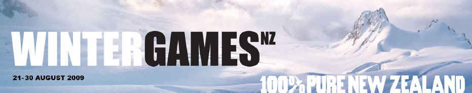 100% Pure NZ Winter Games